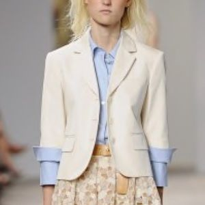 Michael Kors Collection Cropped Jacket